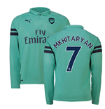 2018-2019 Arsenal Puma Third Long Sleeve Shirt (Mkhitaryan 7)