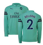 2018-2019 Arsenal Puma Third Long Sleeve Shirt (Bellerin 2)