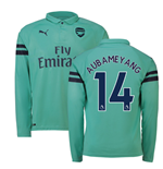 2018-2019 Arsenal Puma Third Long Sleeve Shirt (Aubameyang 14)