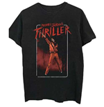 Michael Jackson Men's Tee: Thriller White Red Suit