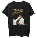 Michael Jackson Men's Tee: Thriller White Suit