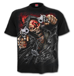5fdp - Assassin - T-Shirt Black Plus Size