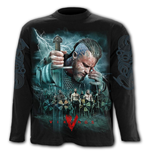 Vikings - Battle - Longsleeve T-Shirt Black