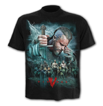 Vikings - Battle - T-Shirt Black Plus Size