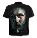 Ragnar Face - T-Shirt Black
