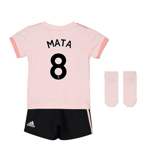 timeless design 4683a 1ea18 2018-19 Man Utd Away Baby Kit (Mata 8)