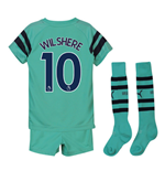 2018-2019 Arsenal Third Little Boys Mini Kit (Wilshere 10)