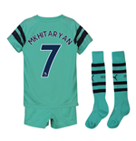 2018-2019 Arsenal Third Little Boys Mini Kit (Mkhitaryan 7)