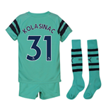 2018-2019 Arsenal Third Little Boys Mini Kit (Kolasinac 31)