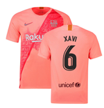 2018-2019 Barcelona Third Nike Football Shirt (Xavi 6)