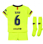 2018-2019 Barcelona Away Nike Little Boys Mini Kit (Xavi 6)