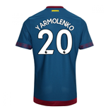 2018-2019 West Ham Away Football Shirt (Yarmolenko 20)