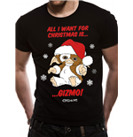 Gremlins - All I Want Is Gizmo - Unisex T-shirt Black