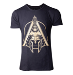 ASSASSIN'S CREED Odyssey Spartan Helmet T-Shirt, Male, Small, Black