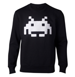 SPACE INVADERS Chenille Invaders Sweater, Male, Extra Large, Black
