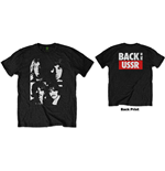 The Beatles Men's Tee: Back in the USSR (Back Print)