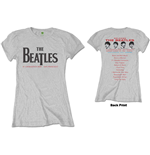 The Beatles Ladies Tee: Candlestick Park (Back Print)