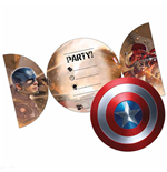 Captain America Parties Accessories 323544