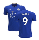 2018-2019 Leicester City Puma Home Football Shirt (Vardy 9)