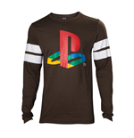 Playstation - Logo Striped Army Men's Longsleeve
