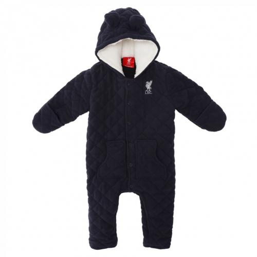 Liverpool F.C. Quilted Snowsuit 9/12 mths