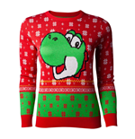 Nintendo Ladies Knitted Christmas Sweater Yoshi