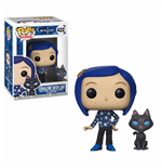 Coraline POP! Movies Vinyl Figure Coraline with Cat 9 cm