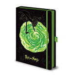 Rick and Morty Premium Notebook A5 Portal