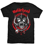Motorhead T-shirt Lightning Wreath (Unisex)