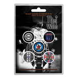 The Who Button Badge Pack: Quadrophenia