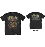 Guns N' Roses Men's Tee: Trashy Skull (Back Print)