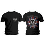 Motorhead Men's Tee: British Warpig & Logo (Back Print)