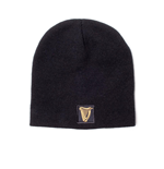 Guinness - Embroidered Logo & Metal Badge Beanie (KC24458GNS)