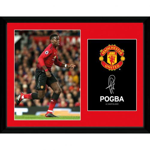0a0d19f3c Manchester United F.C. Picture Pogba 16 x 12