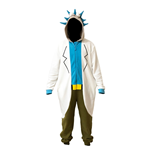 Rick And Morty Ex Adult Onesie Rick Onesie