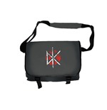 Dead Kennedys Messenger Bag Distressed Logo (BLACK)