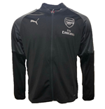 2018-2019 Arsenal Puma Stadium Jacket (Black)