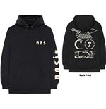 Nas Unisex Pullover Hoodie: Symbols (Back Print)