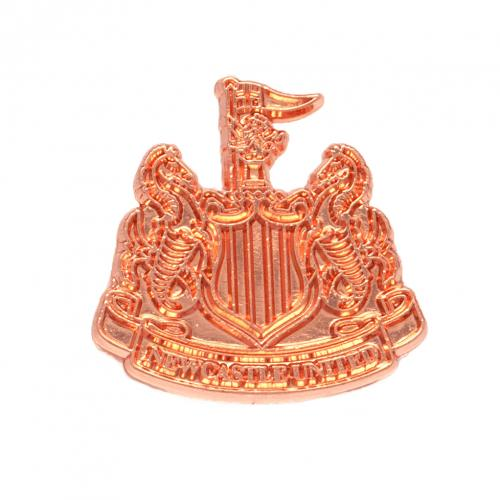 Newcastle United F.C. Copper Plated Badge
