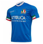 2018-2019 Italy Home Replica Rugby Shirt (Kids)