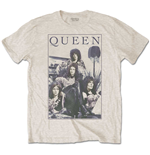 Queen Men's Tee: Vintage Frame
