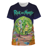 Rick & Morty T-Shirt Jumbo Portal