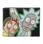 Rick and Morty Wallet Characters GITD