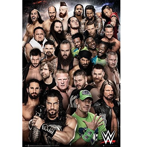 Wwe - Superstars 2018 Maxi Poster (61x91,5 Cm)