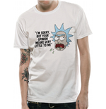 Rick And Morty - Opinion - Unisex T-shirt White