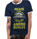 Rick And Morty - Peace Among Worlds - Unisex T-shirt Blue