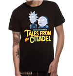 Rick And Morty - Tales Of The Citadel - Unisex T-shirt Black