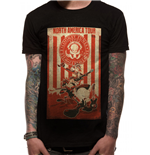 Looney Tunes - Tour Poster - Unisex T-shirt Black