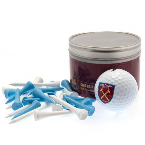 West Ham United F.C. Ball & Tee Set
