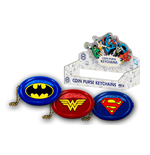 Dc Comics - Coin Purse Keychain 3 Styles Set Of 24 - Keychain